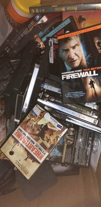 Box of DVDs $1.00 a piece  Pattersonville, 12137