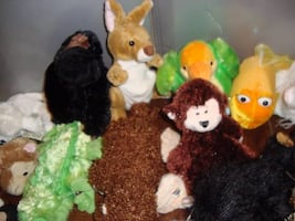 Webkinz plush toy collection screengrab