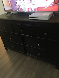 Black and brown veneer dresser Rockville, 20855