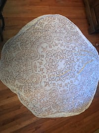 Two Antique Lace Tablecloths (6 ft round) Arlington, 22204