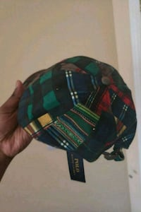 black, green, and red plaid print cap Ajax, L1S 0B9