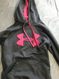 Under Amour - Pink and grey hoodie Oshawa, L1G 1V4