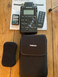 Slightly Used Tascam DR-100 MKII with rechargeable battery. Washington, 20003