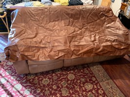 Brown Pool Table Cover - Regulation Size!