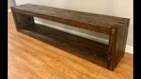 Bench with Storage -  (New and Handcrafted) Lafayette
