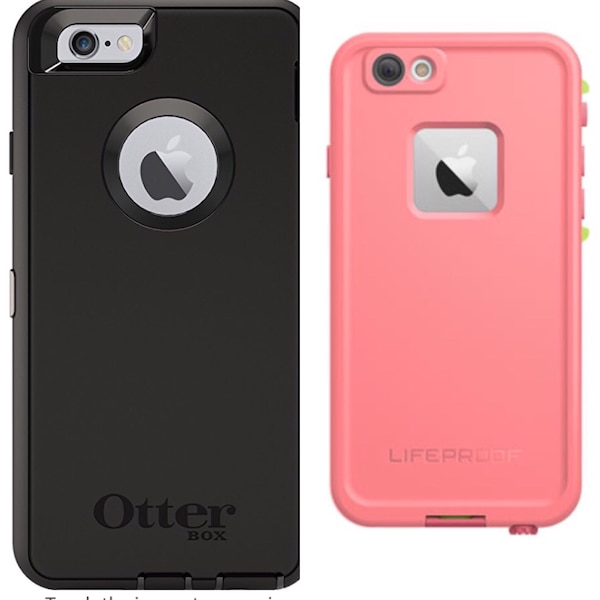 NEW! IPHONE 6/6s OTTERBOX DEFENDER OR LIFEPROOF FRE CASE