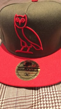 red and black Chicago Bulls fitted cap Burlington, L7M