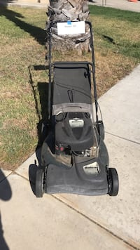 Mower works! Has worn gas line that is cracked and leaks a bit so it will need to be replaced. Temecula, 92592