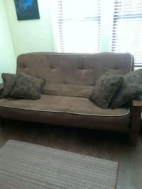 brown fabric 2-seat sofa Hagerstown, 21740