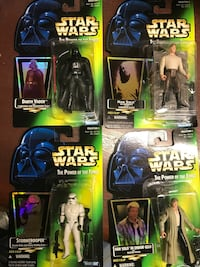 Star wars action figure collection