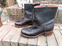 Fryer boots brand new only wore one time my number is  [TL_HIDDEN]  Chesapeake, 23321