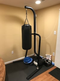 Punching Bag and Stand with gloves Alexandria, 22306
