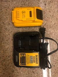 1 NEW Dewalt battery (20volt,3ah) and battery charger Towson, 21286