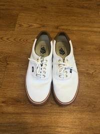 White Vans, never worn size 11 Raleigh