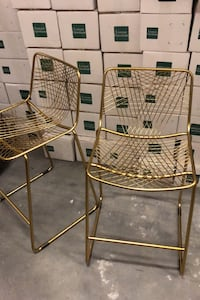 Counter height gold chairs Boston, 02115
