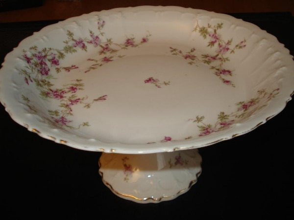 Plates & Serving Dishes by MZ Austria Porcelain China Flowered - Dishes  Collection
