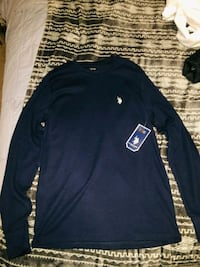Navy Polo long sleeve Kelso, 98626