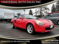 2000 Toyota MR2 Spyder Base 2dr Convertible salem