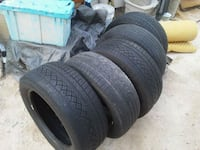 235-55-17 all five tires $60 Las Vegas, 89122