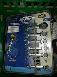 7pc stubby gear wrench set