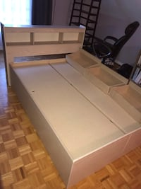 Bed frame with storage  Mississauga, L5B 3G5