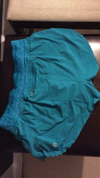 Blue lululemon shorts