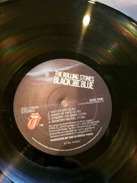 Record  Rilling Stones Bleck and Blue  Brooklyn, 11234