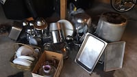 Restaurant kitchen pots and pan and dishes and knife and so many other thing for sale  Richmond Hill, L4C 8B9