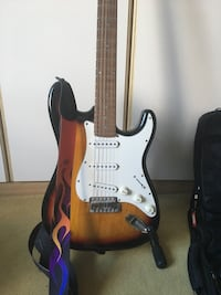 Electric Guitar with Great Accessories  Stockport, SK7 2BJ