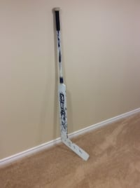 Andrew Raycroft  Autographed Game Used Goalie Stick Lincoln, L0R