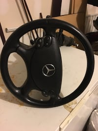 Black and gray steering wheel Frederick, 21702