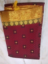 red and brown floral textile Uthangudi, 625020