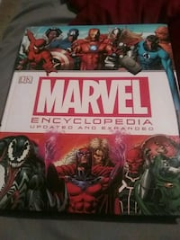 MARVEL Encyclopedia (must pick up)