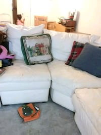Leather sectional Couch  Pensacola, 32504