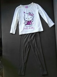 Blanco hello kitty imprimir camisa de manga larga  Reus, 43205