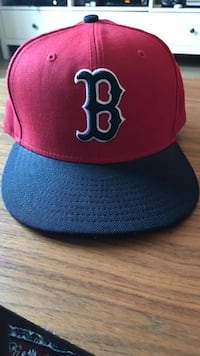 Svart og rød Boston Red Sox-hettehett