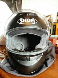 casco nero Shoei pieno
