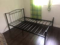 Brand new in box black metal bed in single and double on sale  多伦多, M1S 1M5