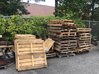 Free pallets- you must pick up between the hours of 7AM-3PM and items are as is. Medford, 11763