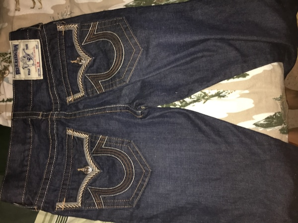 35dd6fe1a Used blue True Religion Jeans for sale in Alexandria - letgo
