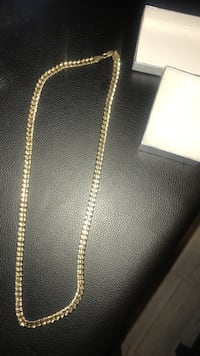 18K Cuban link chain up for sale‼ ‼ also negotiable  Toronto, M3N 1T4