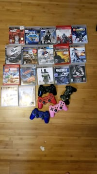 Ps3 controllers and games Brampton, L6V 2X1