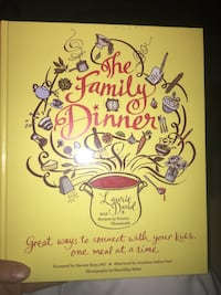 Family cook book by Laurie David. Ordered the wrong book can't return. Perfect condition never used  Edmonton, T5A