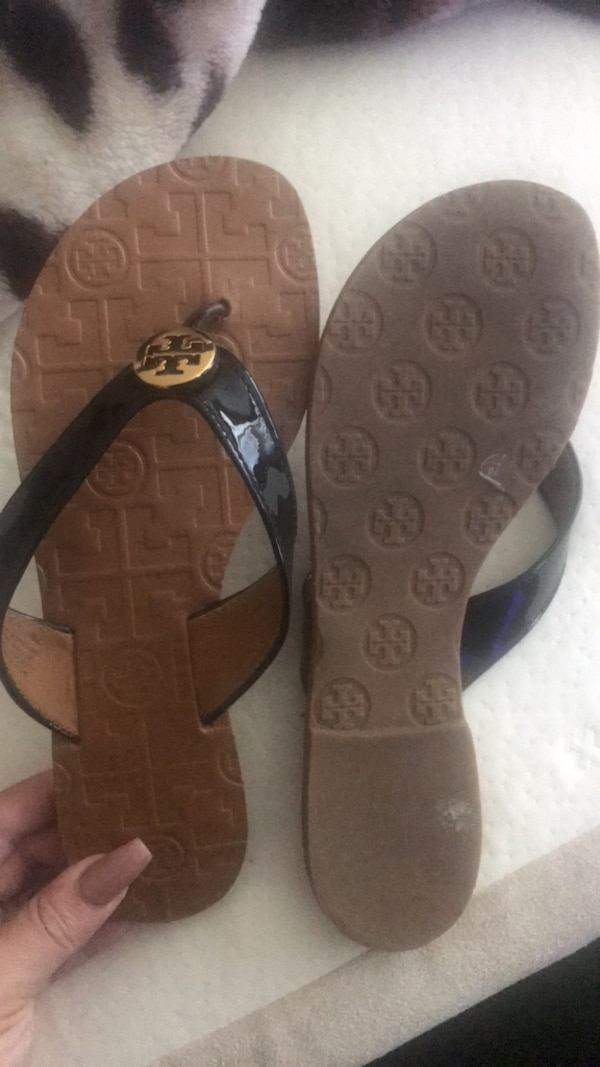 276eceffcefa Used Tory Burch Thora sandals yess 100 real for sale in San Jose - letgo