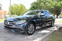 Black 2016 Mercedes-Benz C 300 Luxury Miami