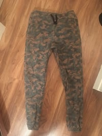 Brown and black camouflage pants Calgary, T3C 2Z1