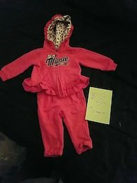 Sz 6 months Minnie Mouse outfit