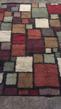 Used Red White And Purple Fur Area Rug For Sale In Lake Mary Letgo