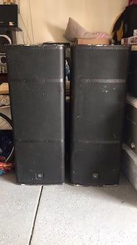 2 loud passive speakers  Alexandria, 22312