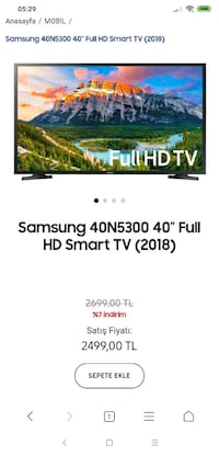 Samsung Smart Tv Ankara, 06360